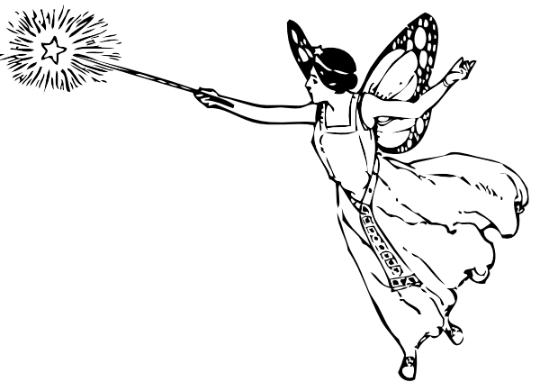 Fairy and Wand